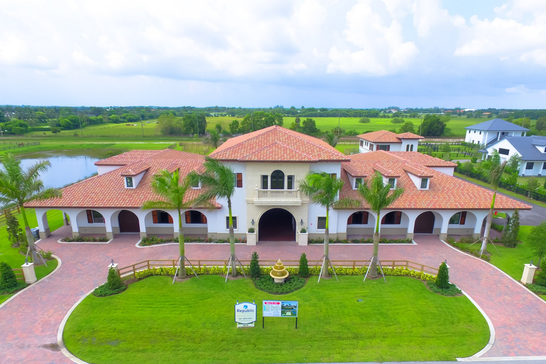 Ferme / Ranch / Plantation pour l Vente à Sanremo Farm 14740 Grand Prix Village Drive Wellington, Florida, 33414 États-Unis