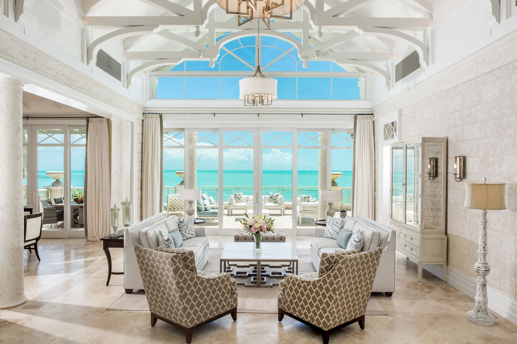 Condominio por un Venta en The Shore Club ~ Penthouse 1504.06.09 The Shore Club, Long Bay, Providenciales Islas Turcas Y Caicos