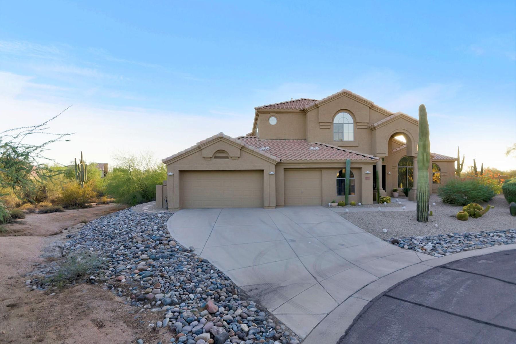 獨棟家庭住宅 為 出售 在 Rare contemporary home in North Scottsdale. 29744 N 67th Way Scottsdale, 亞利桑那州 85266 美國
