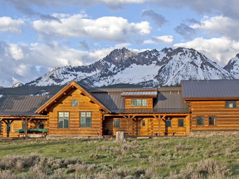 Additional photo for property listing at Goat Creek Ranch 250 Goat Creek Way Stanley, Idaho 83278 États-Unis