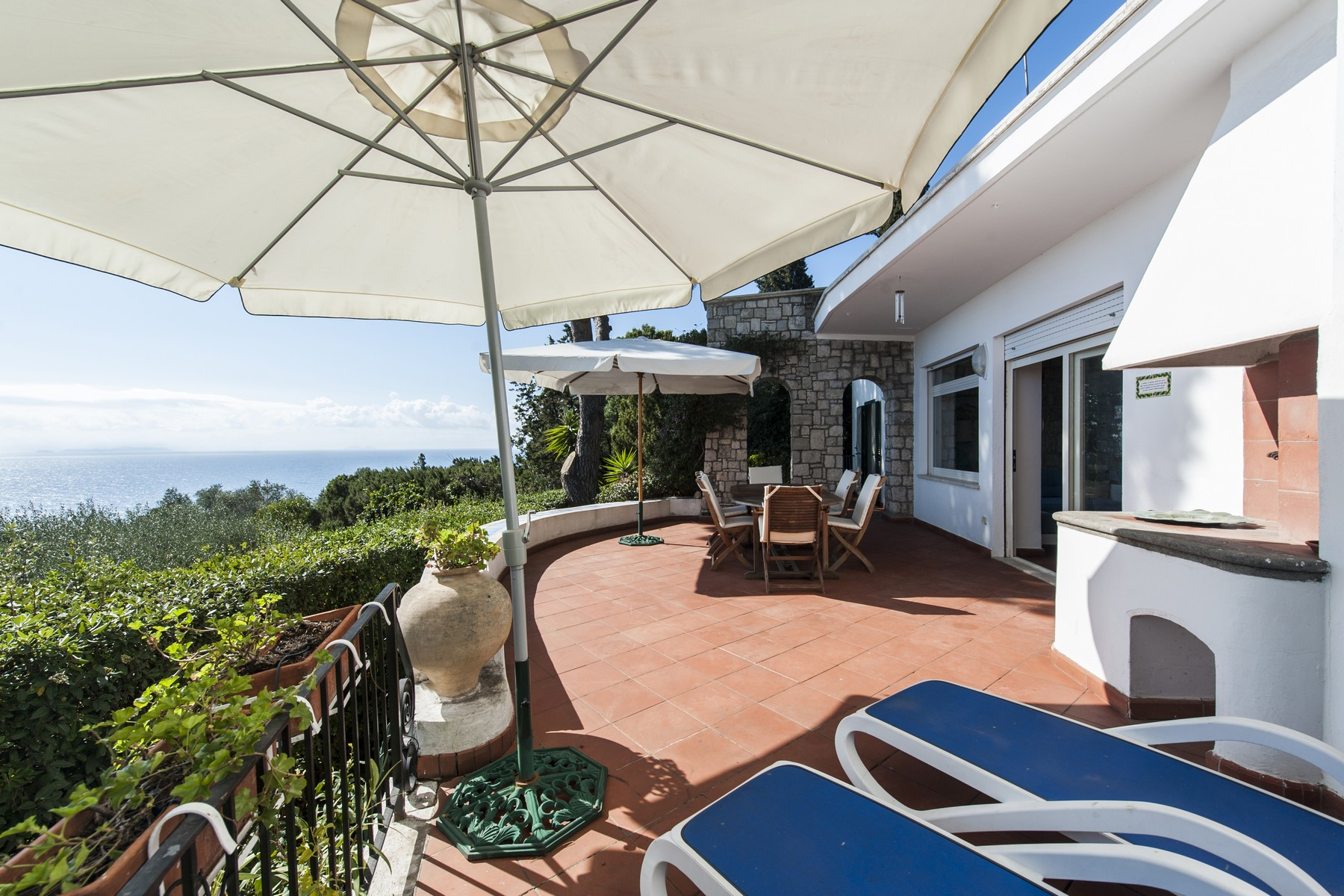 Single Family Home for Sale at Charming villa overlooking the sea in the Circeo National Park Via del Faro San Felice Circeo, Latina 04017 Italy