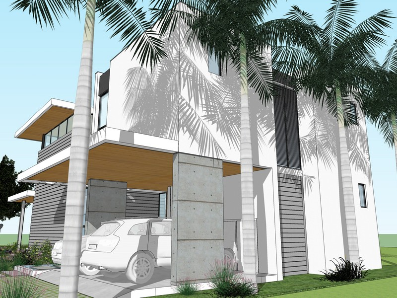 Casa para uma família para Venda às Sunshine Vistas 3635 Frantz Rd. Coconut Grove, Florida 33133 Estados Unidos