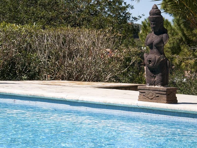 Einfamilienhaus für Verkauf beim Designer Villa Mit Direkten Zugang Zum Golfplatz Ibiza, Ibiza 07840 Spanien