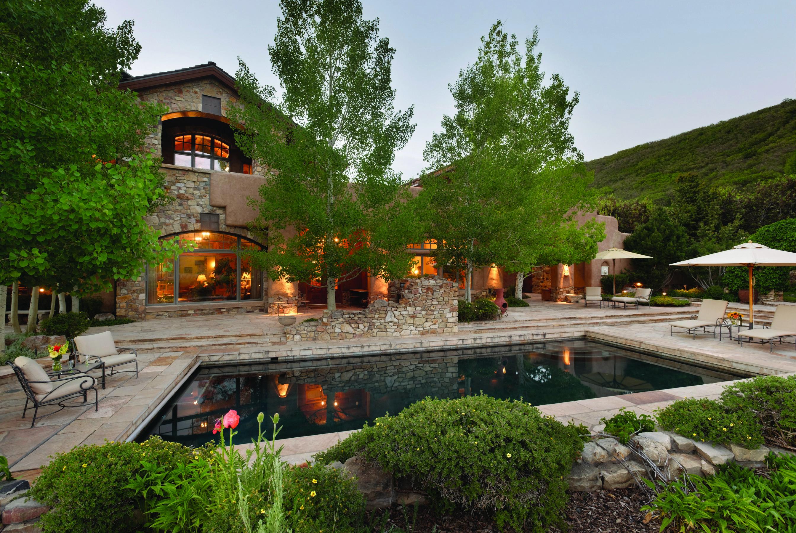 Casa Unifamiliar por un Venta en Tuscan Estate in Old Snowmass 7852 Snowmass Creek Road Snowmass, Colorado 81654 Estados Unidos