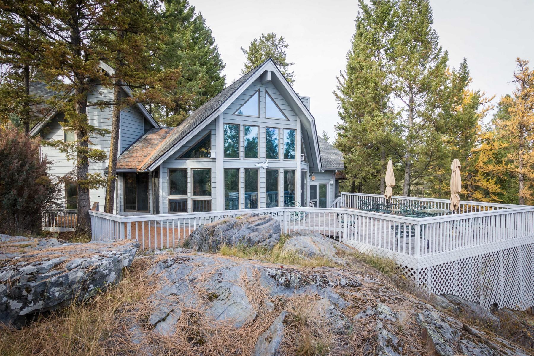 獨棟家庭住宅 為 出售 在 Eagles Nest 21 Ponderosa Lane Bigfork, 蒙大拿州, 59911 美國
