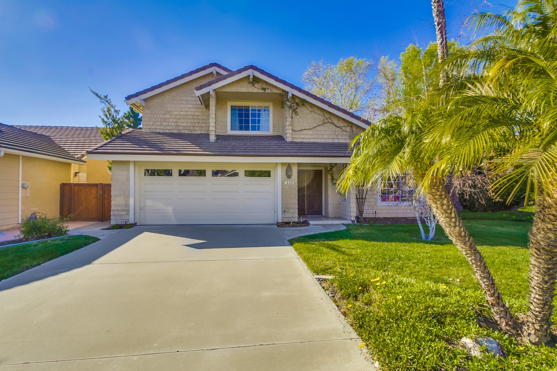 Maison unifamiliale pour l Vente à 510 Gardendale Road Encinitas, Californie 92024 États-Unis