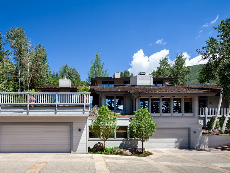 Single Family Home for Sale at Stunning Views from Red Mountain 71 Salvation Circle Aspen, Colorado 81611 United States
