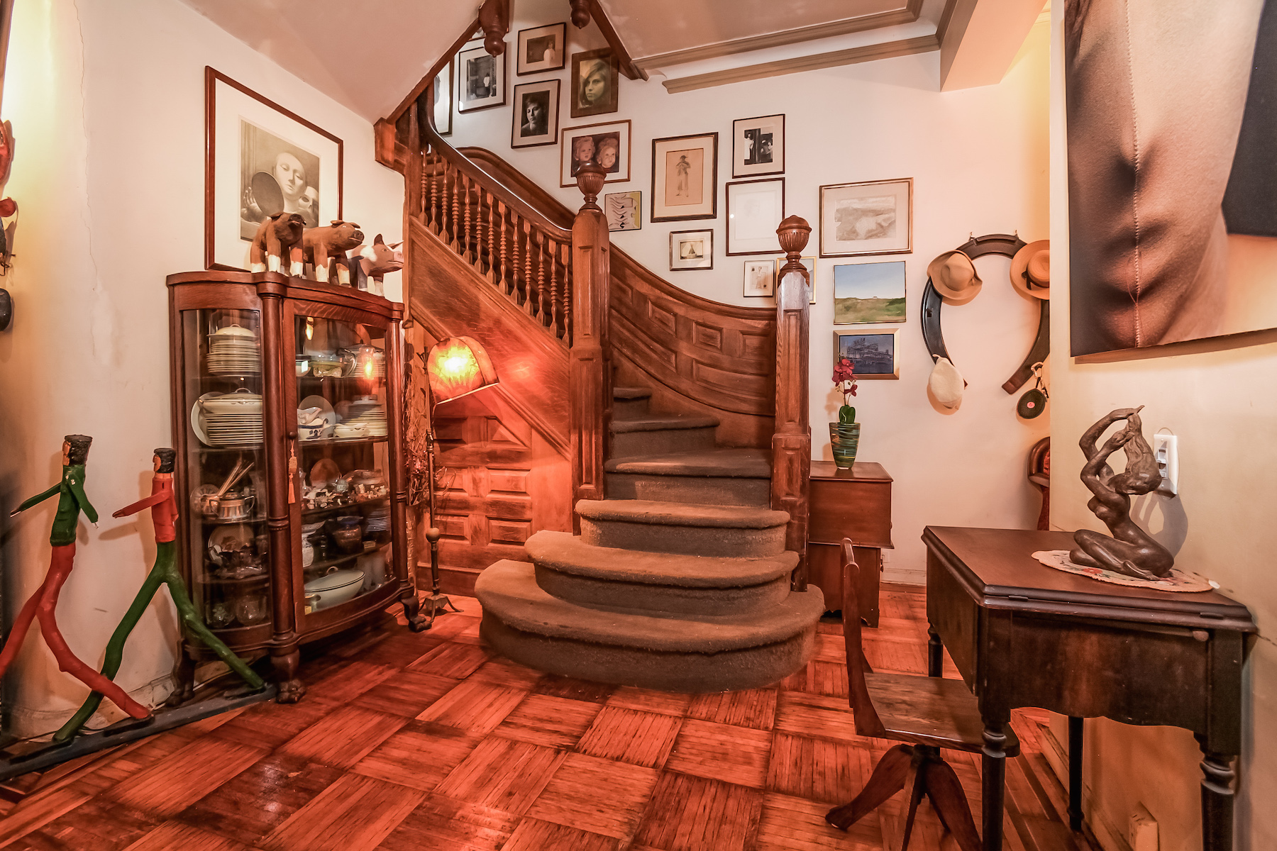 Additional photo for property listing at Park Slope Historic District Two-Family Townhouse 44 Montgomery Place Brooklyn, New York 11215 United States