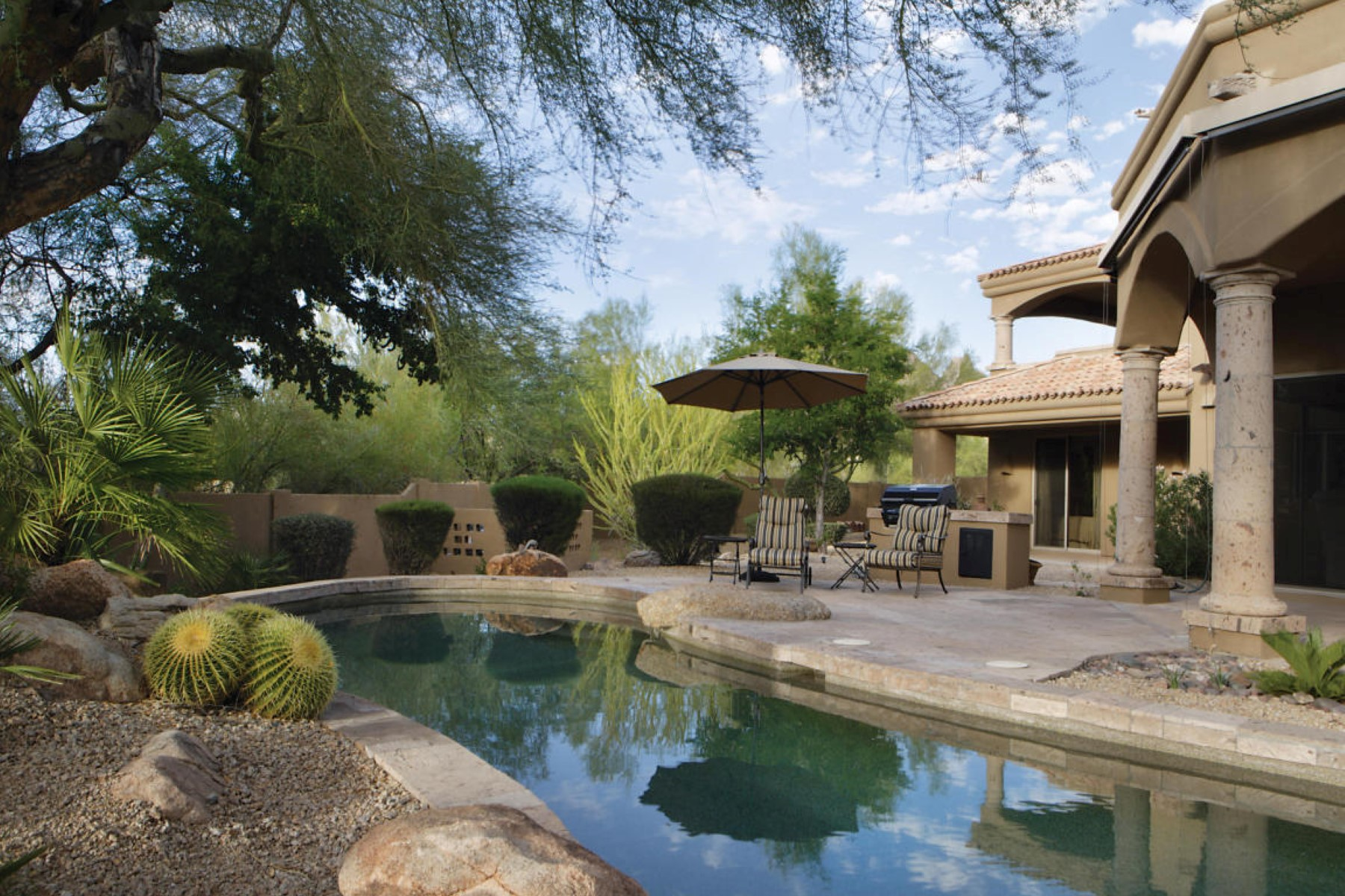 Single Family Home for Sale at Desert Skyline Estates is one of North Scottsdale's desirable gated communities 25230 N 93rd Way Scottsdale, Arizona 85255 United States