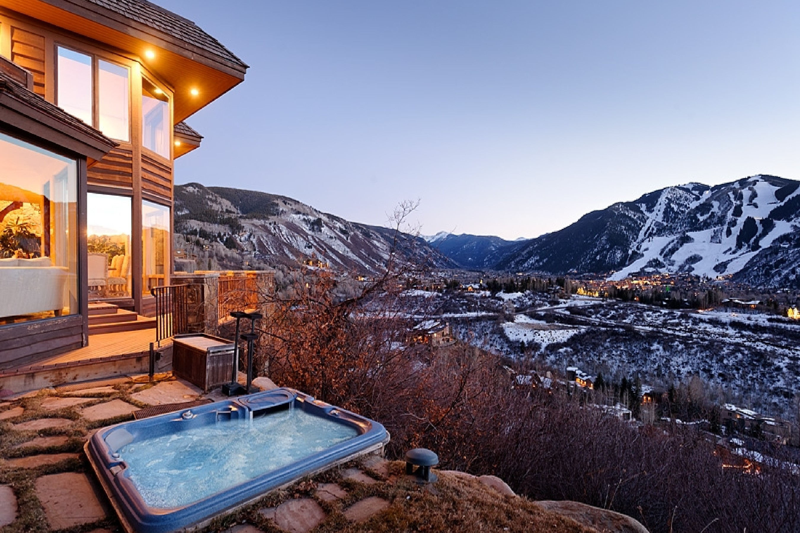 Single Family Home for Sale at Privacy and Views on Red Mountain 476 Wrights Road Aspen, Colorado, 81611 United States