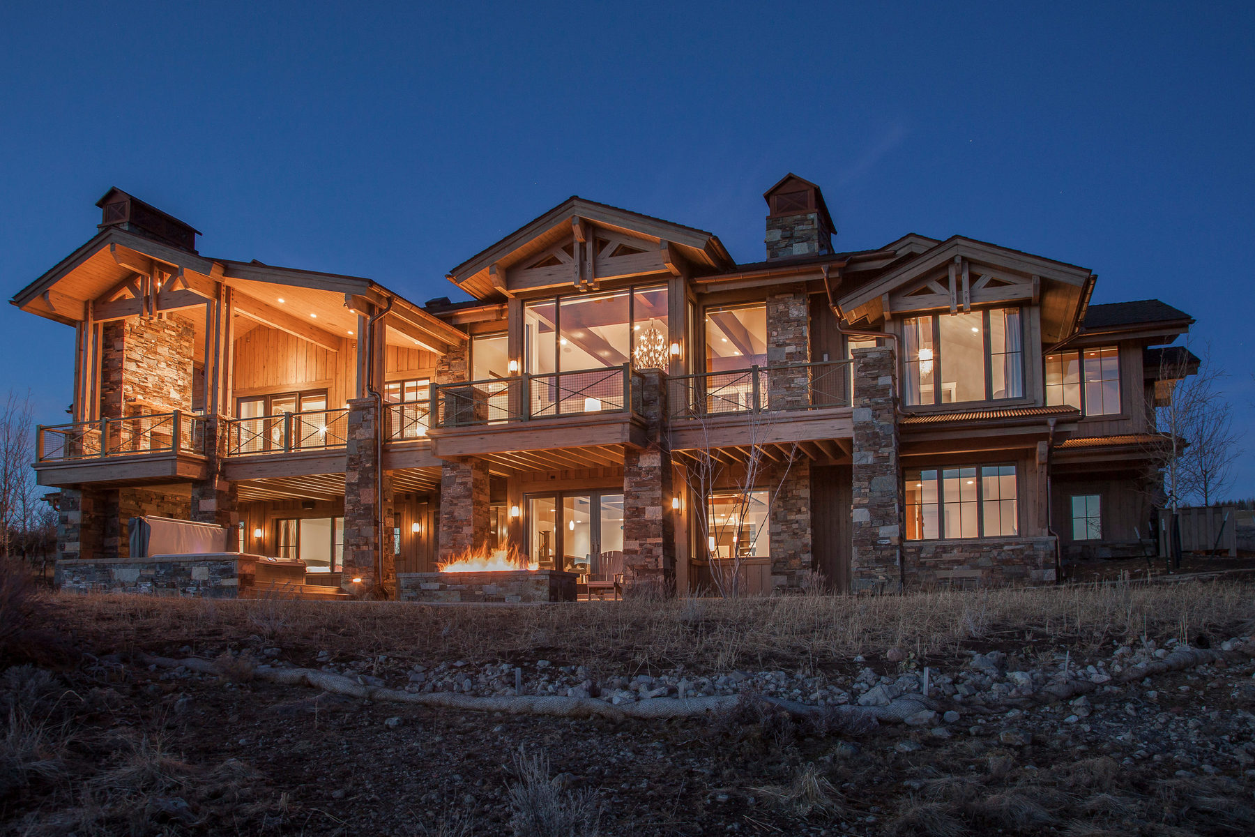 一戸建て のために 売買 アット Mountain Contemporary Perfection. Spectacular Views 3249 Blue Sage Trail Lot #39 Park City, ユタ 84098 アメリカ合衆国