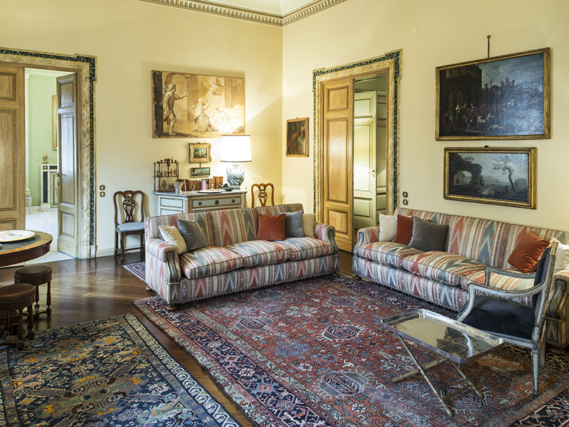 Apartment for Sale at Elegant apartment in a historic Roman Building Corso Vittorio Emanuele II Rome, Rome 00186 Italy