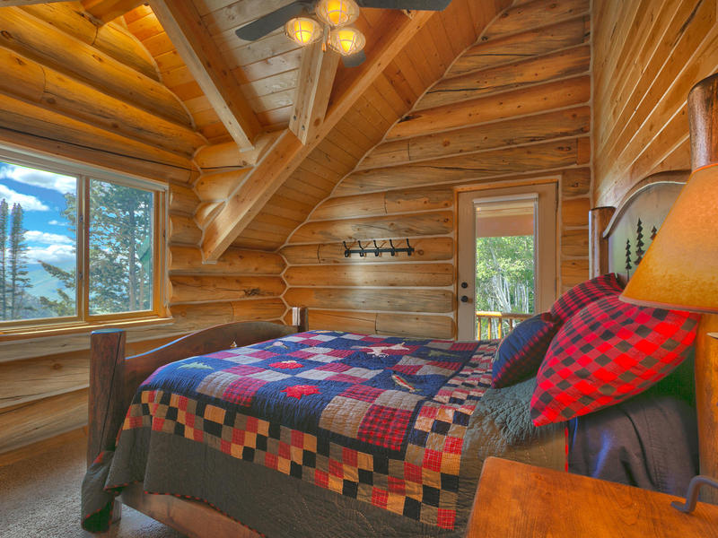 Property Of Stunning newer log home on 20 acres at top of Thousand Peaks Ranch