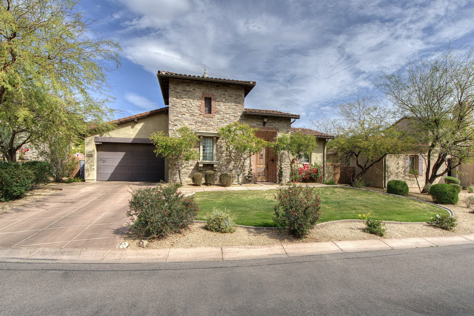 Property For Sale at Charming Single Story Home In The Popular Camelot Haciendas At DC Ranch