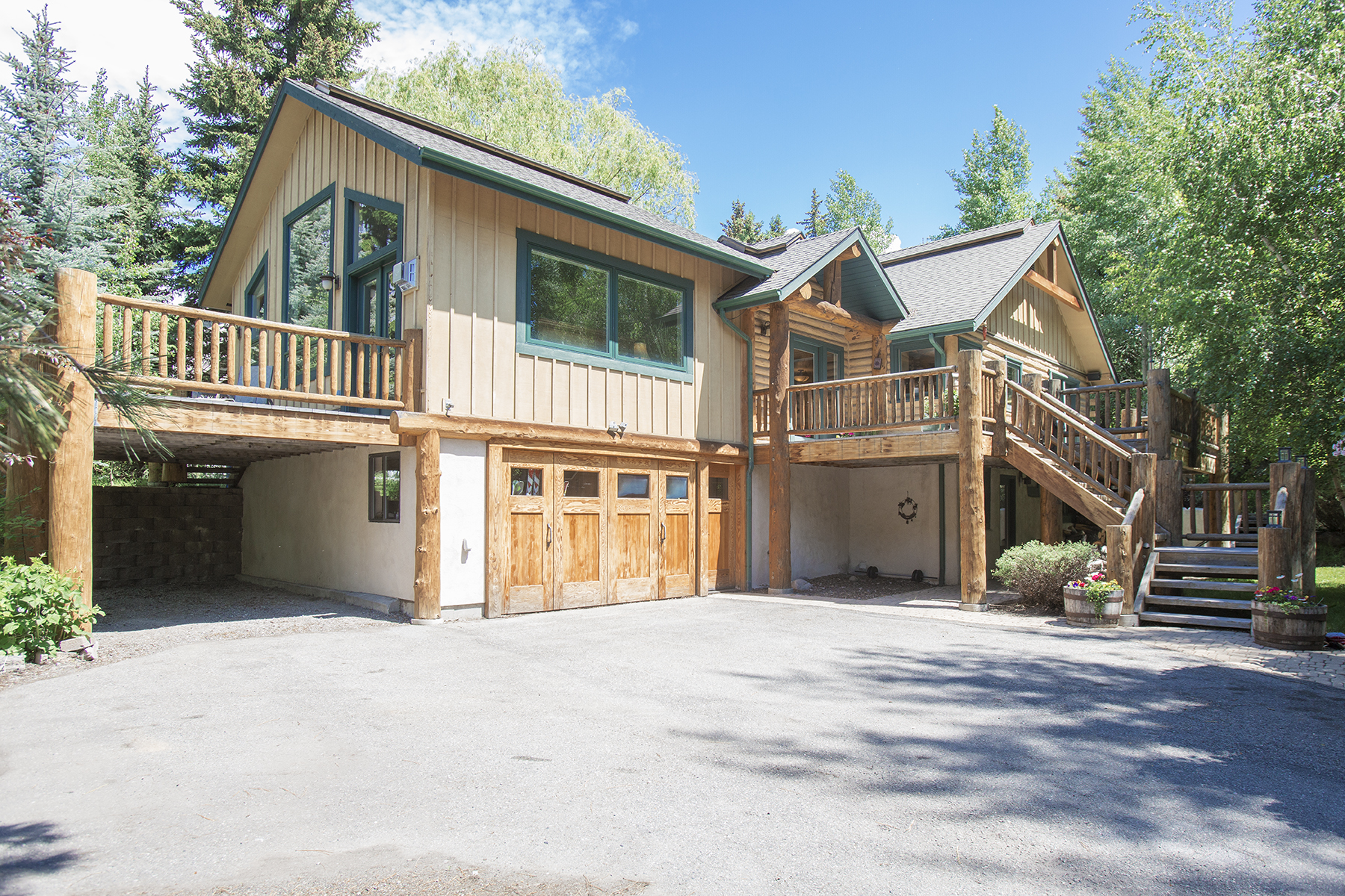 Property For Sale at Private Compound Close to the Bike Path and Ketchum