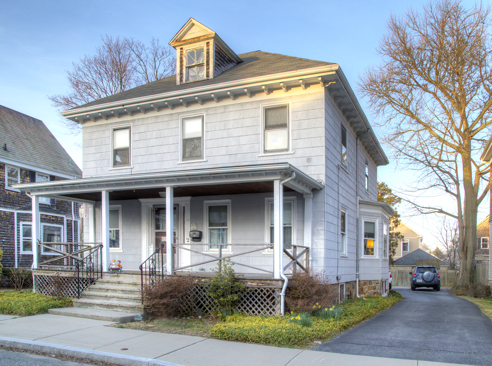 Single Family Home for Sale at Handsome Home near Hospital 15 Bradford Avenue Newport, Rhode Island, 02840 United States