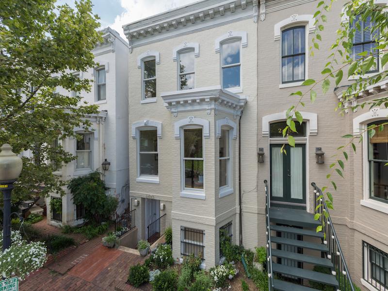 タウンハウス のために 売買 アット Georgetown 2455 P Street Nw Washington, コロンビア特別区 20007 アメリカ合衆国