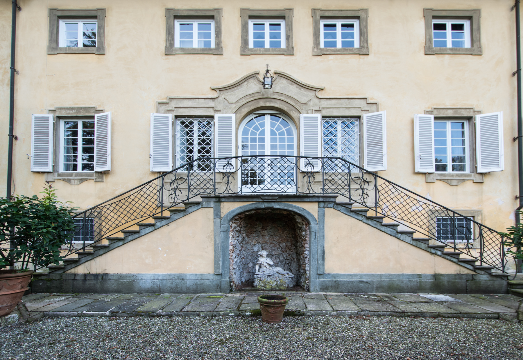 Single Family Home for Sale at Charming 18th century villa in Lucca countryside Montuolo Lucca, Lucca 55100 Italy