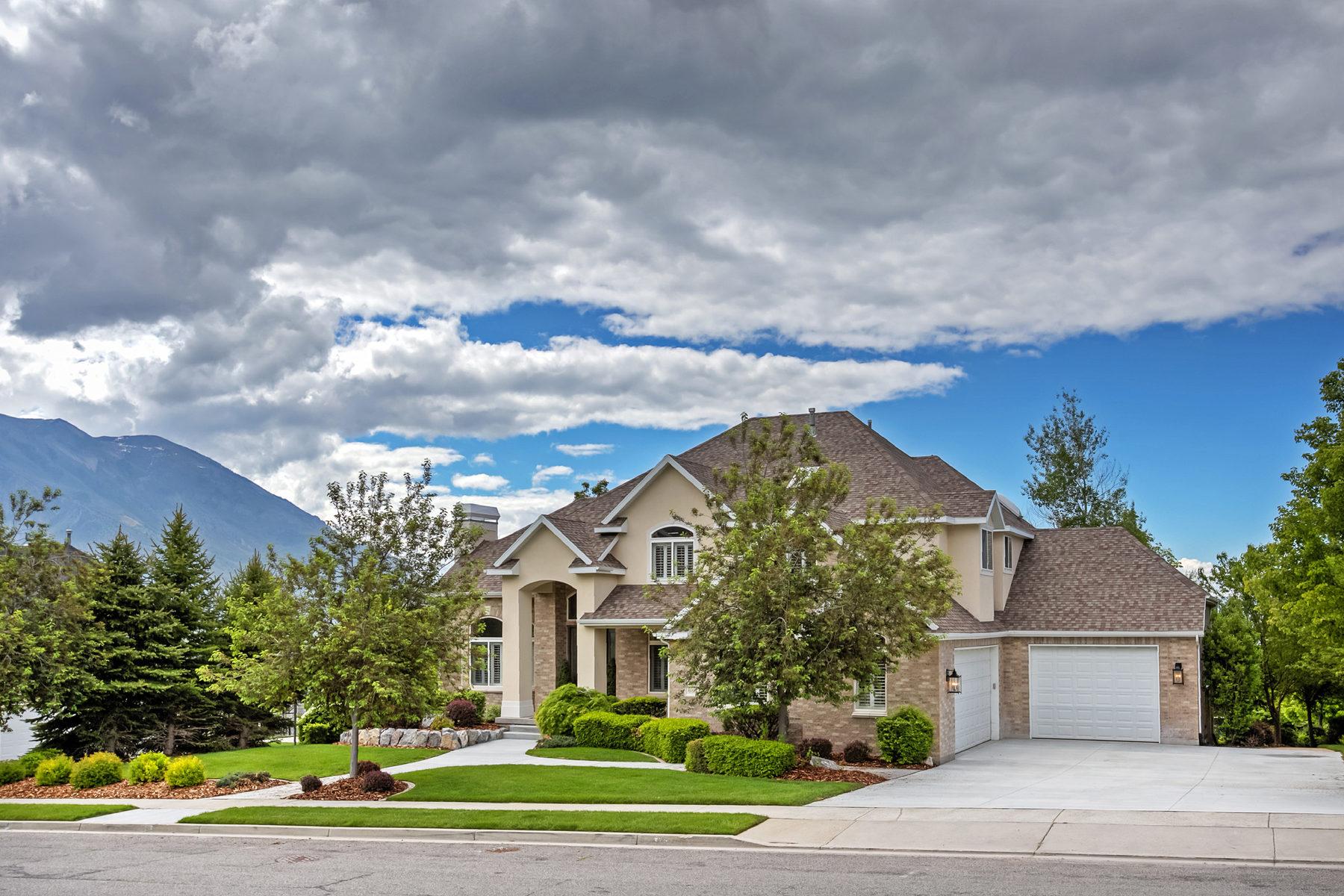 Einfamilienhaus für Verkauf beim Stunning Alpine Home with Breathtaking Views 665 W 600 N Alpine, Utah, 84004 Vereinigte Staaten