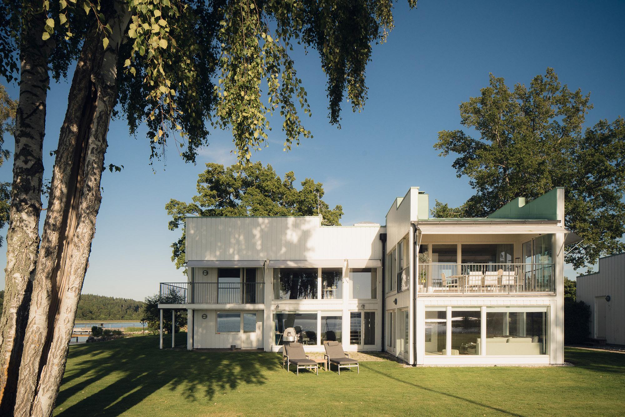 Nhà ở một gia đình vì Bán tại Desirable waterfront property on your own cape Skäluddsvägen 18 Stockholm, Stockholm 17832 Thụy Điển