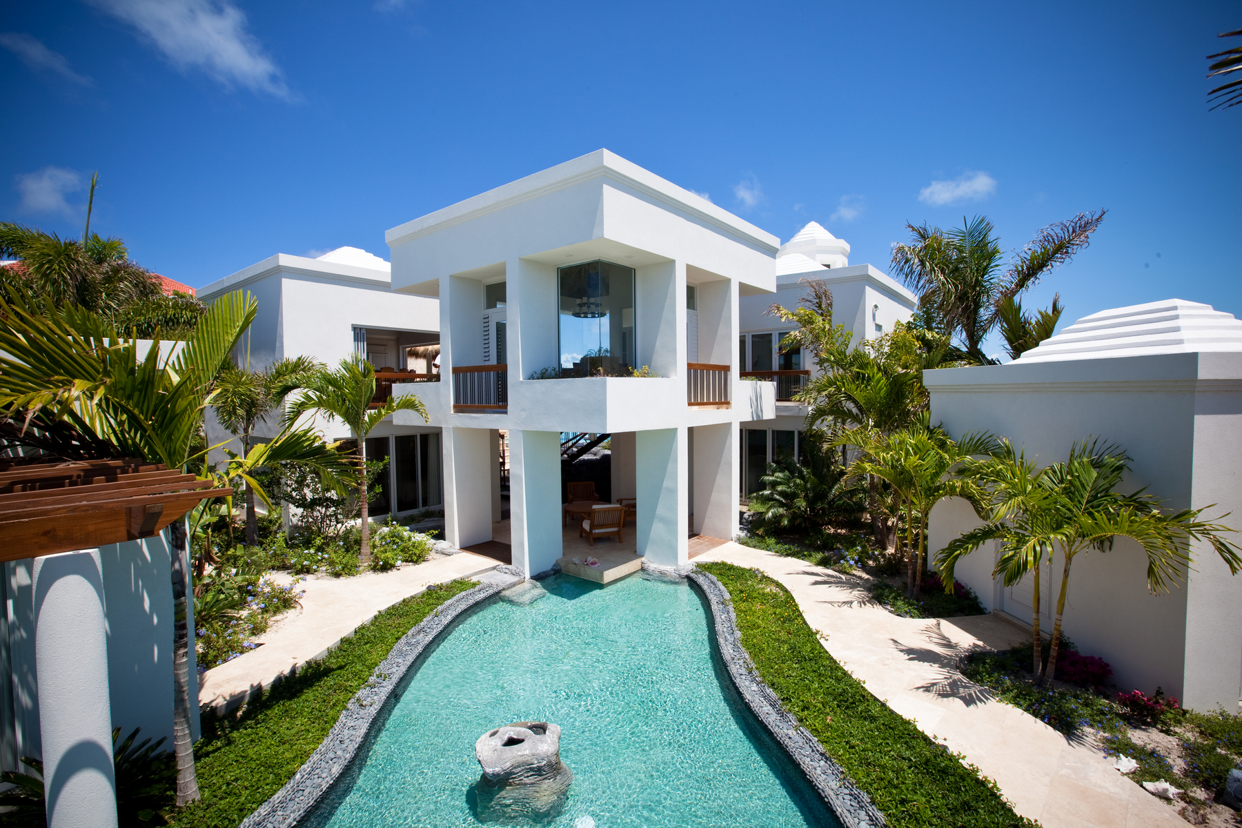 Single Family Home for Sale at Turtle Breeze Villa Beachfront Turtle Cove, Providenciales TC Turks And Caicos Islands