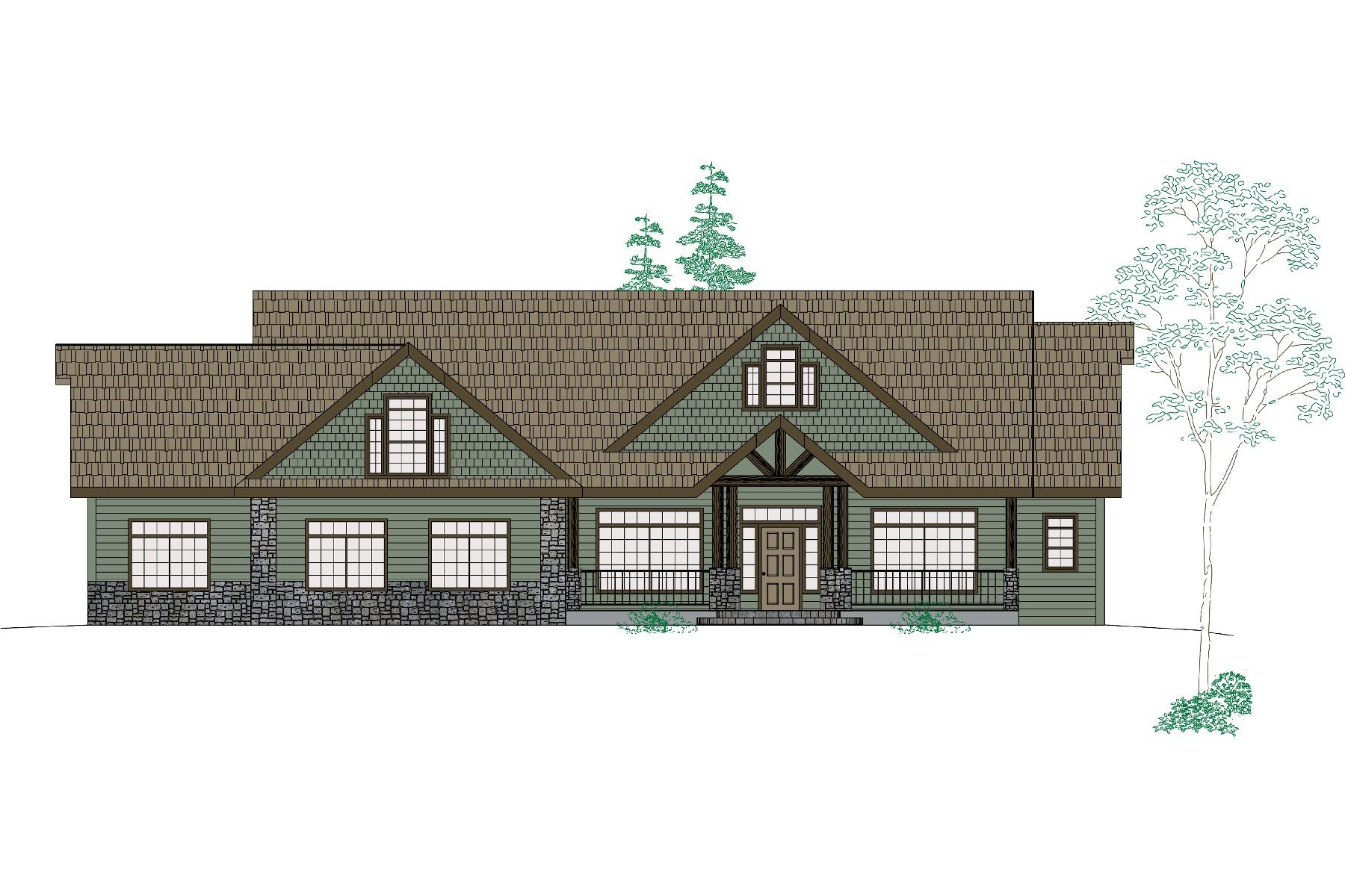 Maison unifamiliale pour l Vente à Bear Creek Estates 11769 N Cub Hayden, Idaho 83835 États-Unis