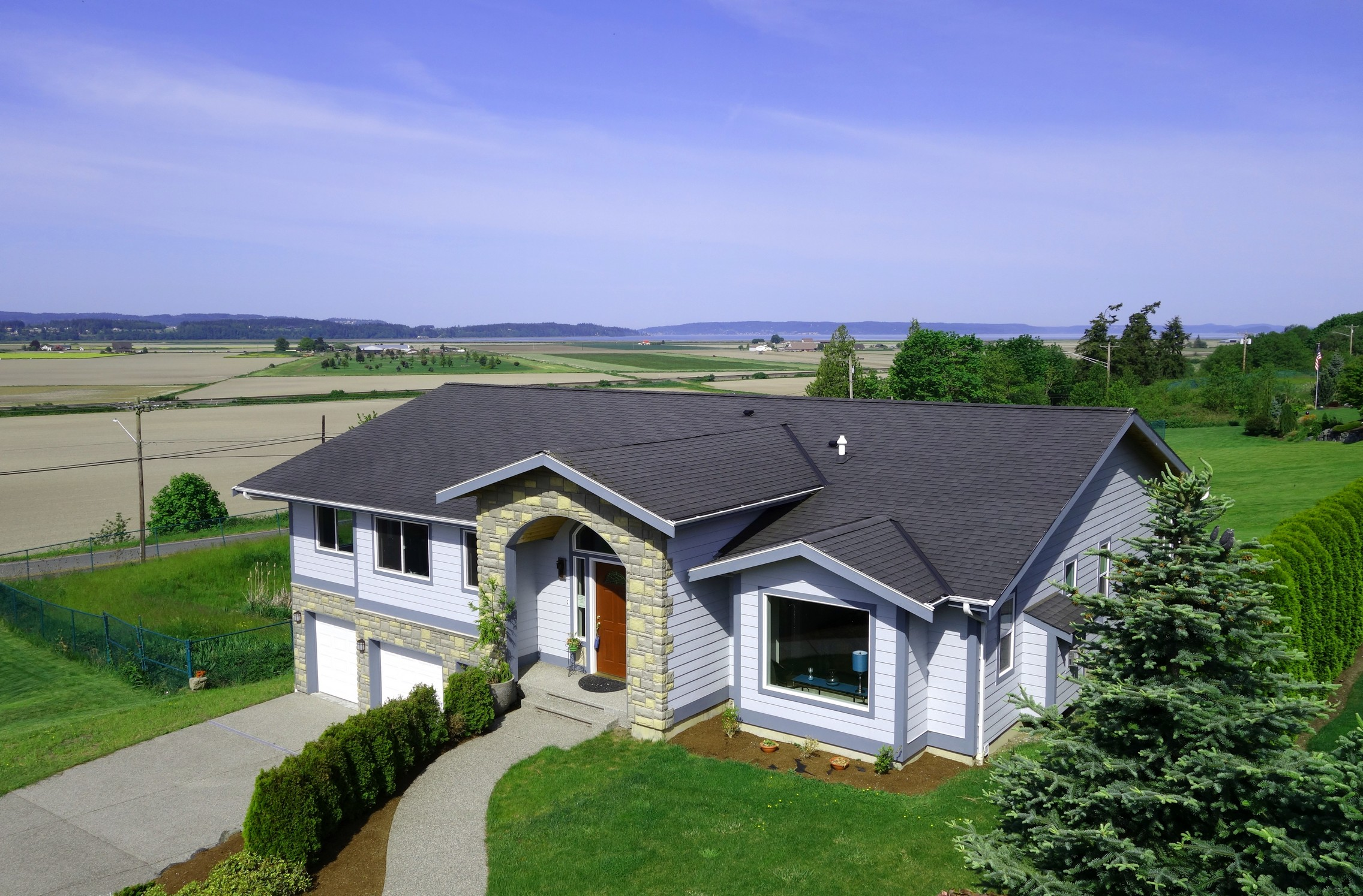 Single Family Home for Sale at Custom Panoramic View 8704 Nordic Way Stanwood, Washington 98292 United States