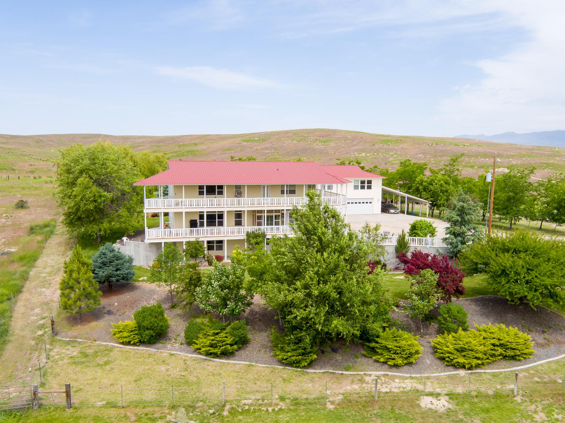 Частный односемейный дом для того Продажа на 6025 Little Freezeout Road, Caldwell 6025 Little Freezeout Rd Caldwell, Айдахо, 83607 Соединенные Штаты