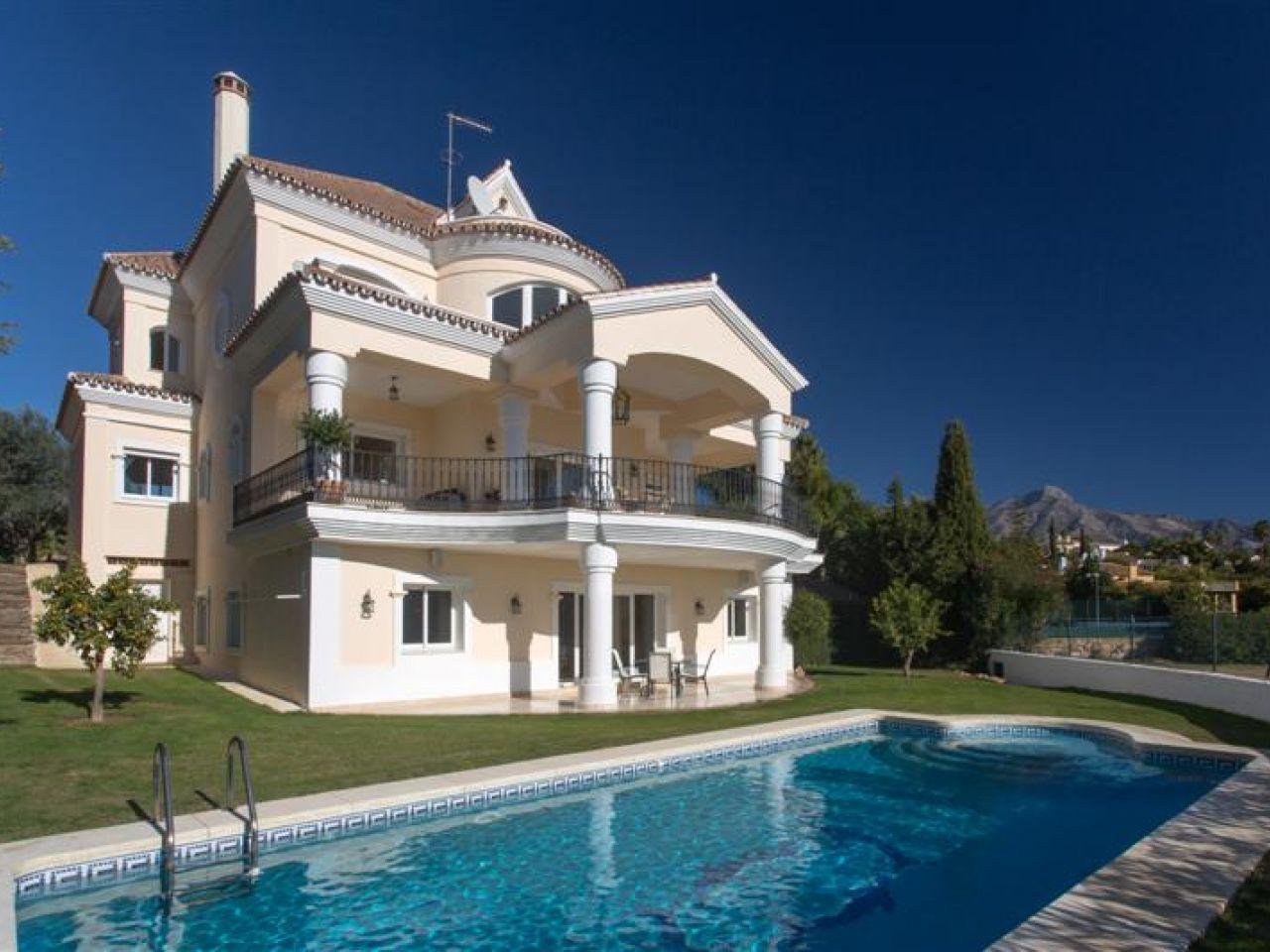 Single Family Home for Sale at Frontline golf villa in Los Naranjos Marbella, Costa Del Sol 29660 Spain