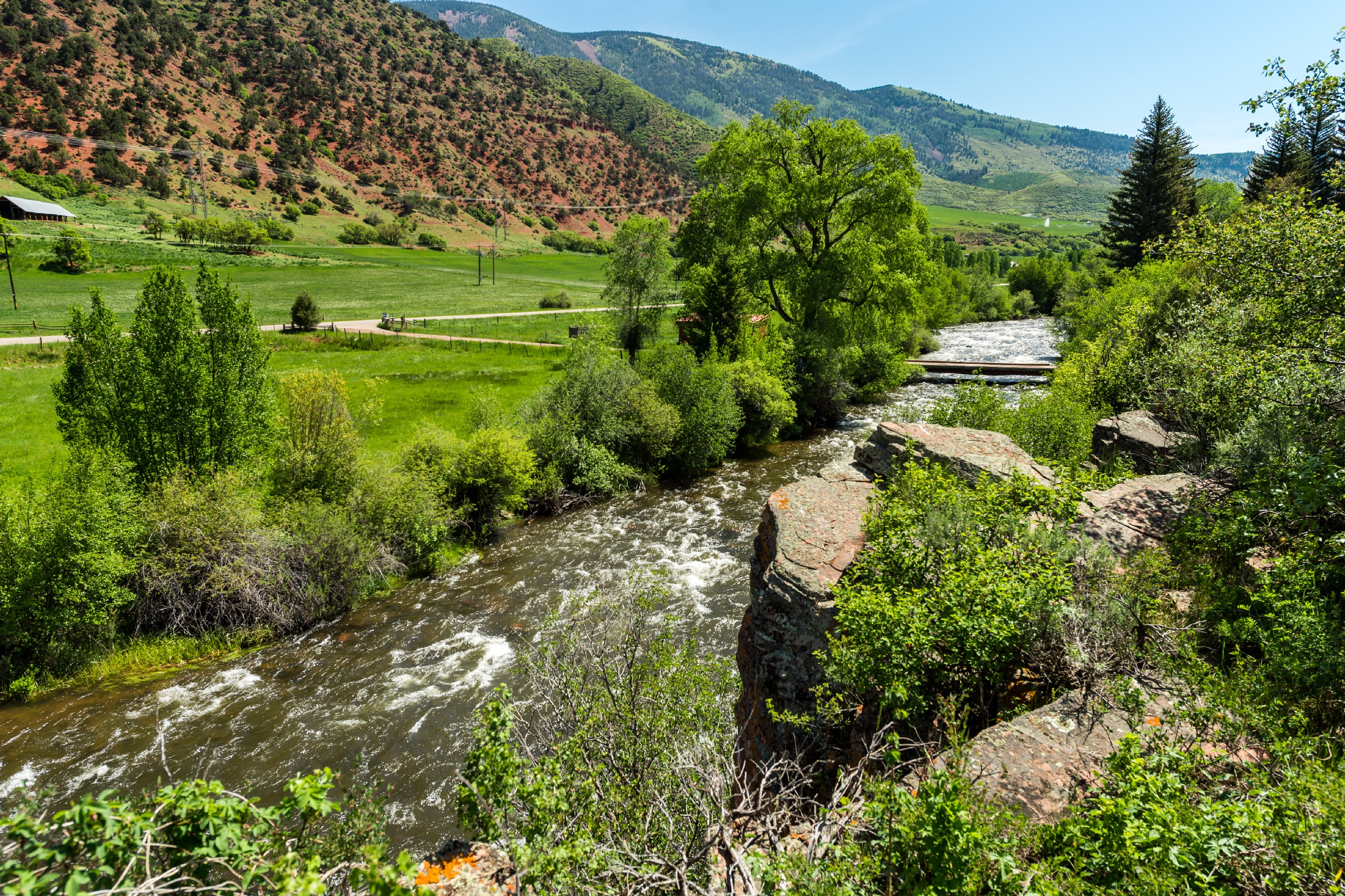 Land for Sale at FRYING PAN VALLEY 54 Spruce Road Basalt, Colorado, 81621 United States