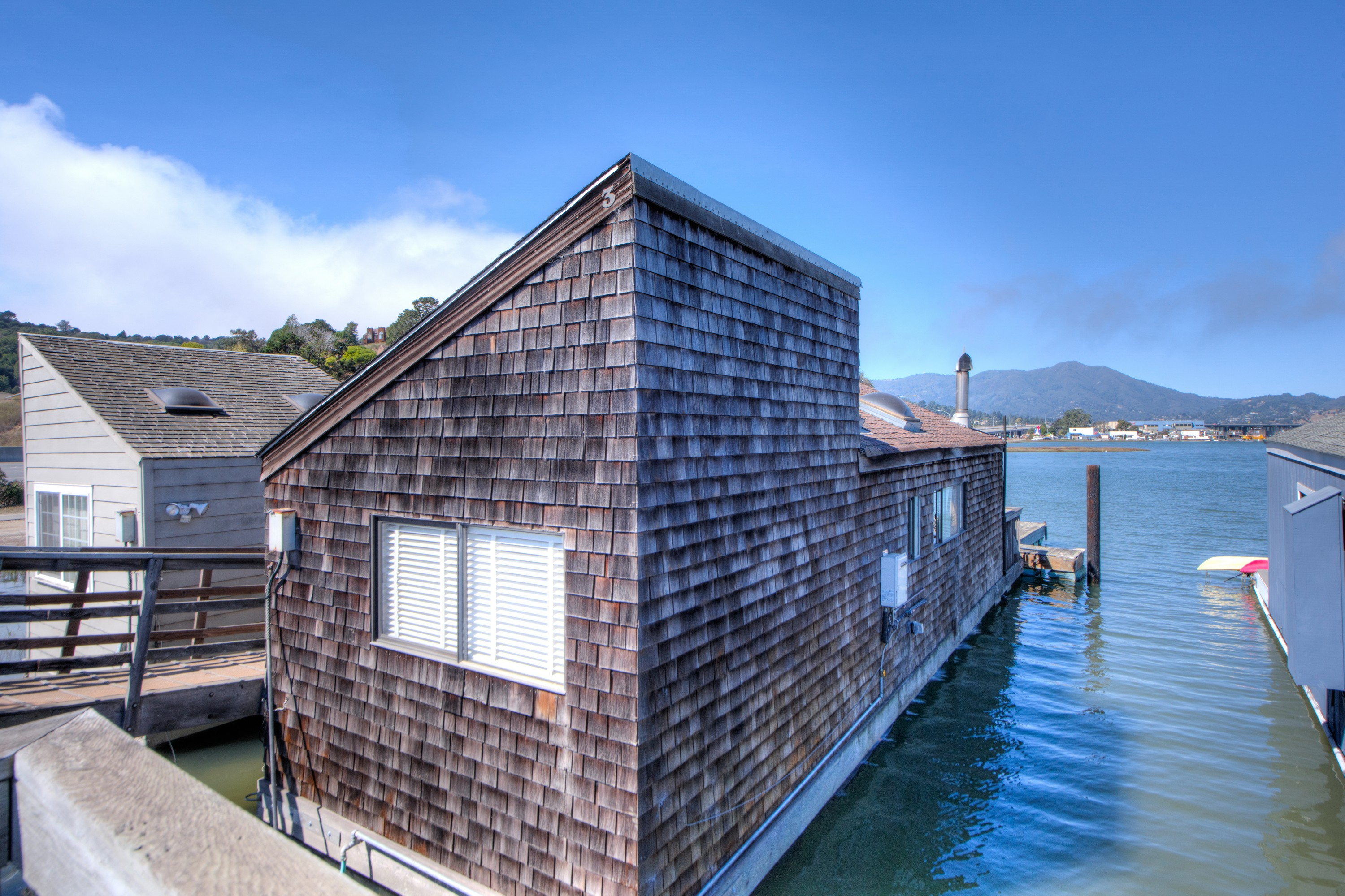 sales property at Live the Sausalito Houseboat Lifestyle!
