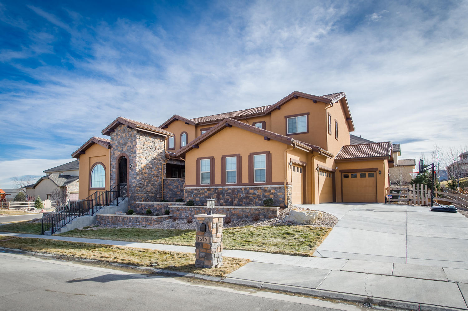 Single Family Home for Sale at Gorgeous Mediterranean style home at the base of North Table Mountain 16561 W 48th Ln Golden, Colorado, 80403 United States