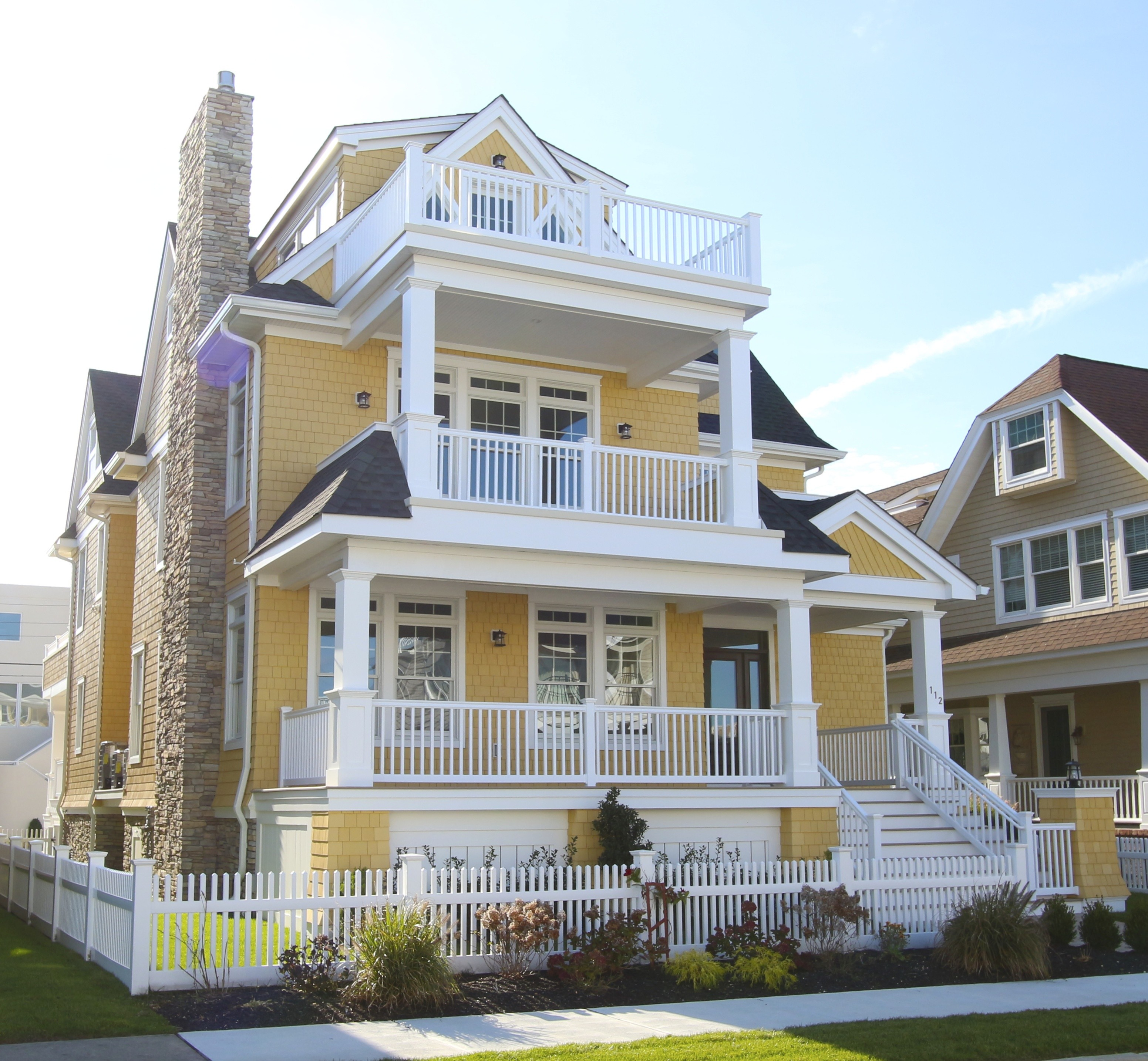 Maison unifamiliale pour l Vente à 112 S 15th Avenue 112 S 15th Avenue BEACHBLOCK NEW CONSTRUCTION Longport, New Jersey 08403 États-Unis