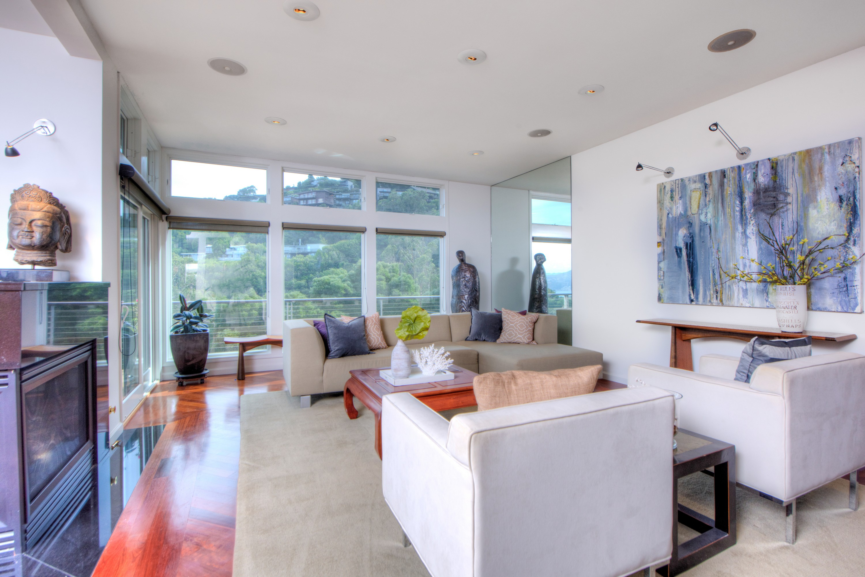 Property For Sale at Modern Retreat with Bay Views and Detached Rental Studio/Artist's Loft