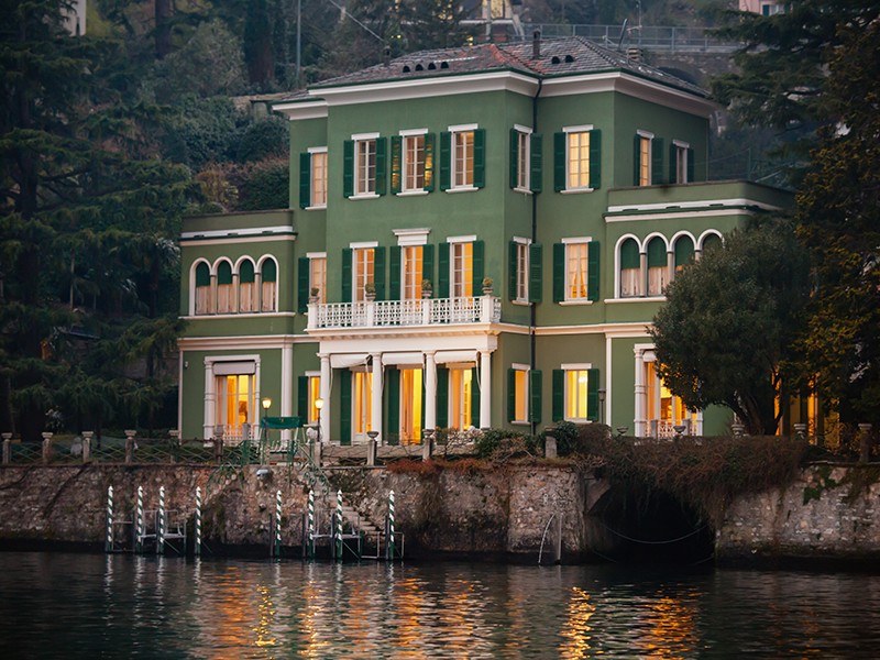 Multi-Family Home for Active at Gorgeous Lakefront Trophy Estate Via Regina Laglio, Como 22010 Italy