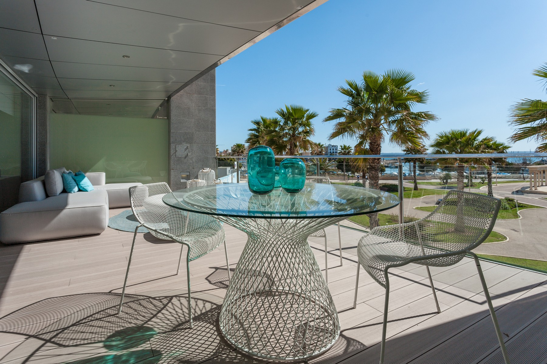 Single Family Home for Sale at Luxury penthouse with swimming-pool in Portixol Palma Portixol, Mallorca 07001 Spain