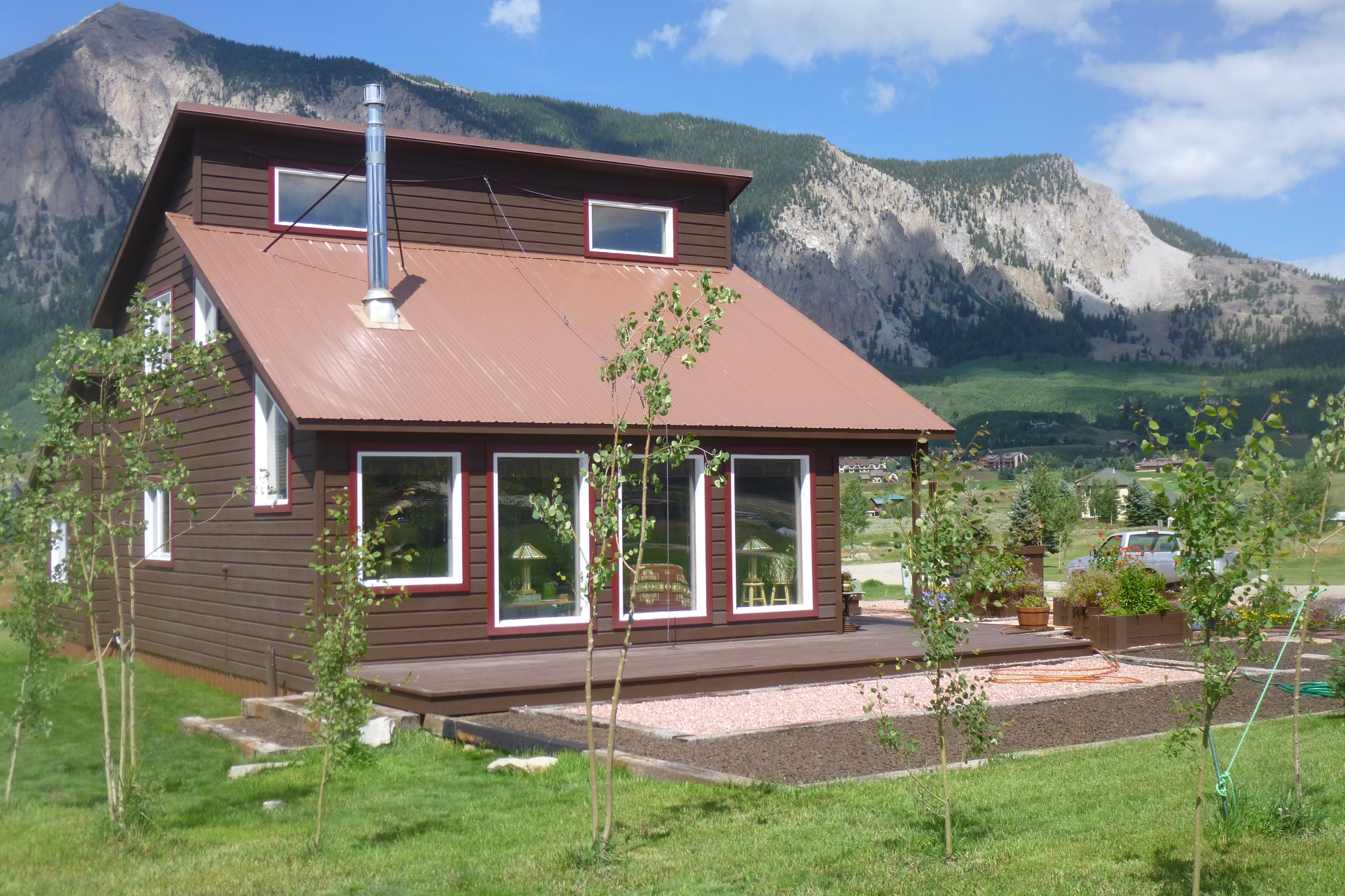 Single Family Home for Sale at Scenic Location 22 Riverbend Drive Crested Butte, Colorado 81224 United States