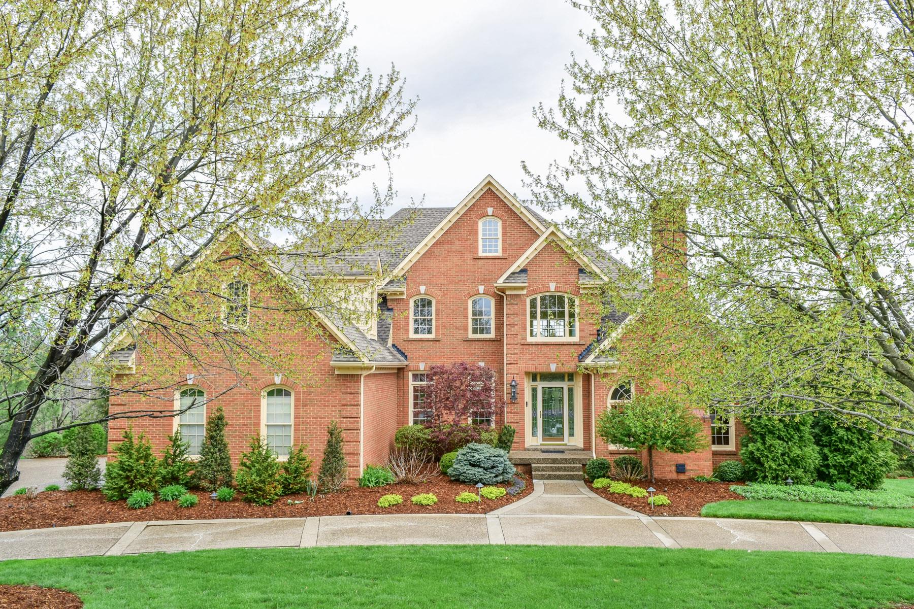 Maison unifamiliale pour l Vente à 7416 Cedar Bluff Court Prospect, Kentucky 40059 États-Unis