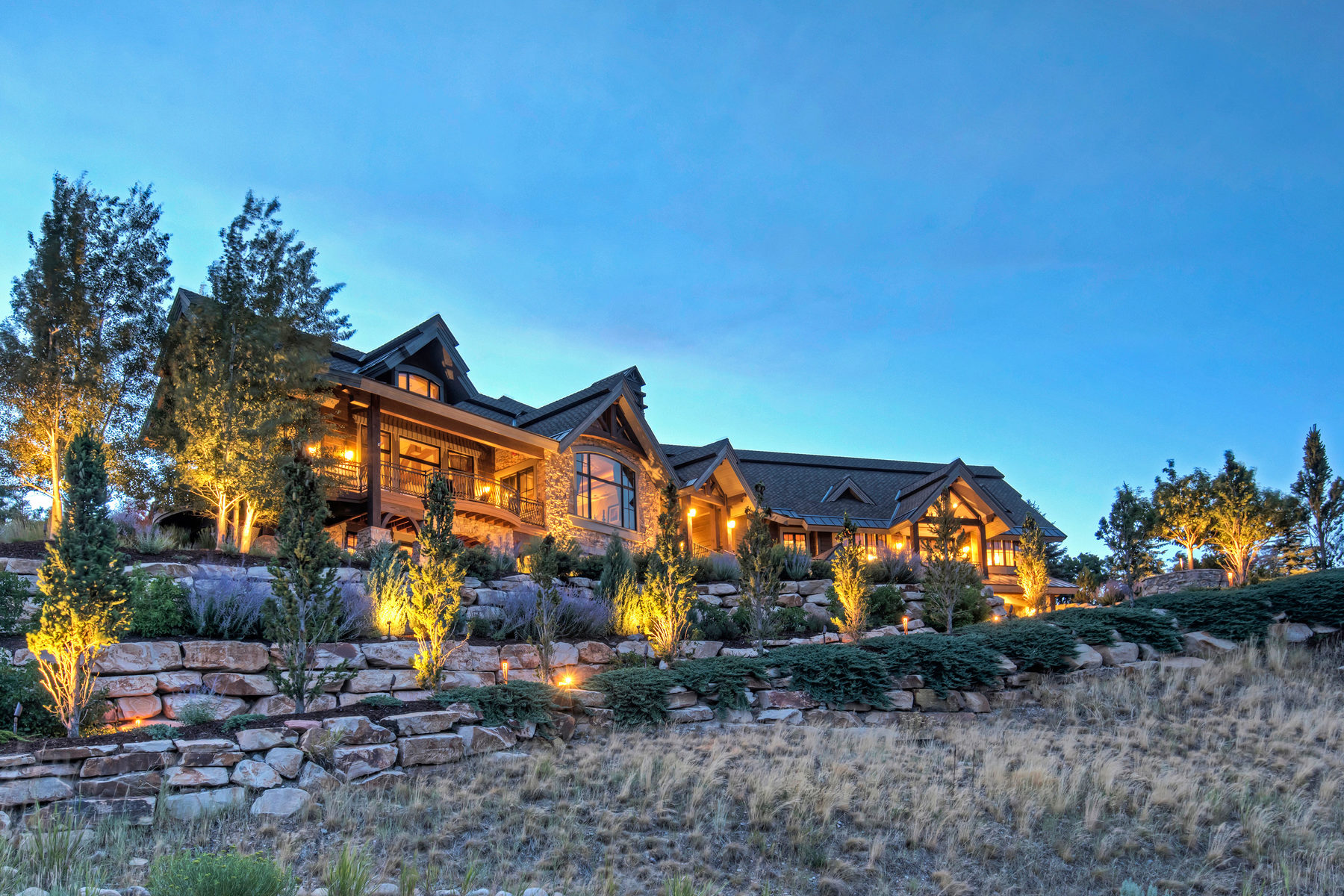 Частный односемейный дом для того Продажа на Great Deer Valley, Park City, Uinta Views! Fabulous Promontory Home! 8053 N Sunrise Loop Lot #47 Park City, Юта, 84098 Соединенные Штаты