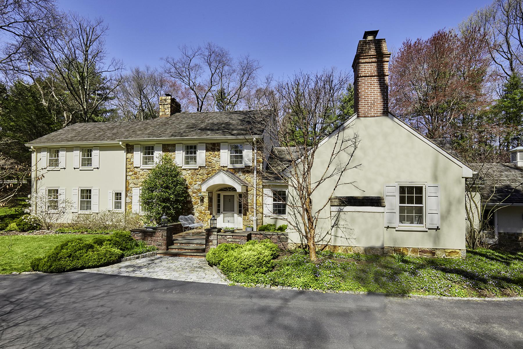 Частный односемейный дом для того Продажа на Gladwyne Gem 1431 Beaumont Drive Gladwyne, Пенсильвания, 19035 Соединенные Штаты
