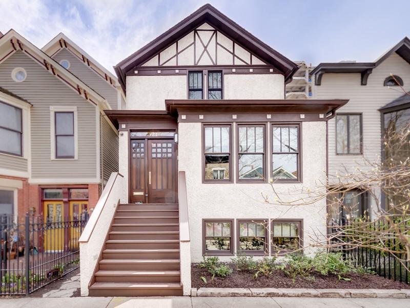 Villa per Vendita alle ore Spectacular East Lincoln Park Home 521 W Grant Place Lincoln Park, Chicago, Illinois 60614 Stati Uniti