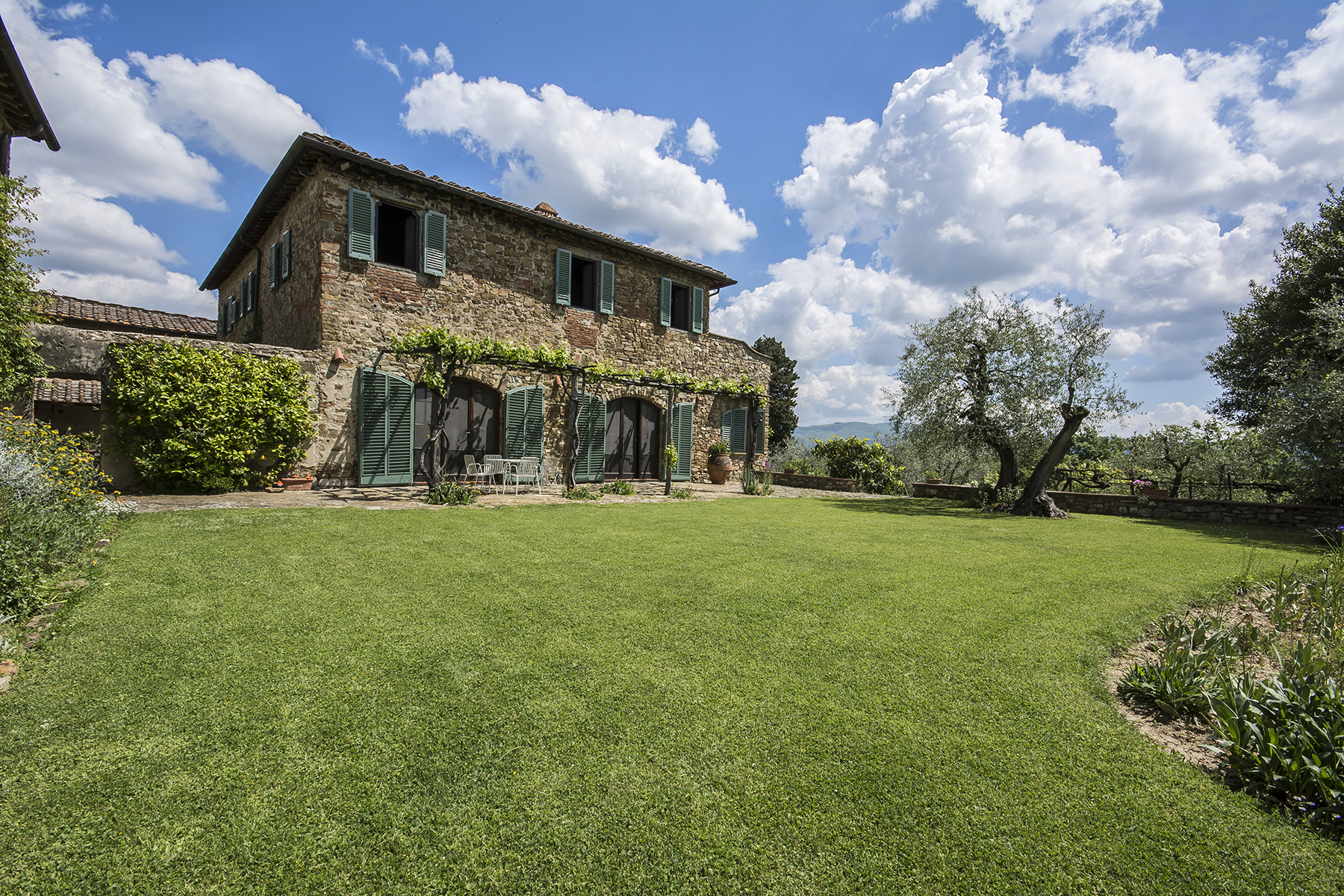 Vivienda unifamiliar por un Venta en Beautiful countryhouse on the Florentine hills Impruneta, Florence Italia
