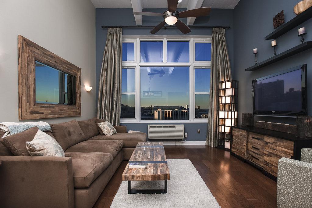 共管式独立产权公寓 为 销售 在 Incredible Views 1500 Washington Street #9L 霍博肯, 新泽西州, 07030 美国
