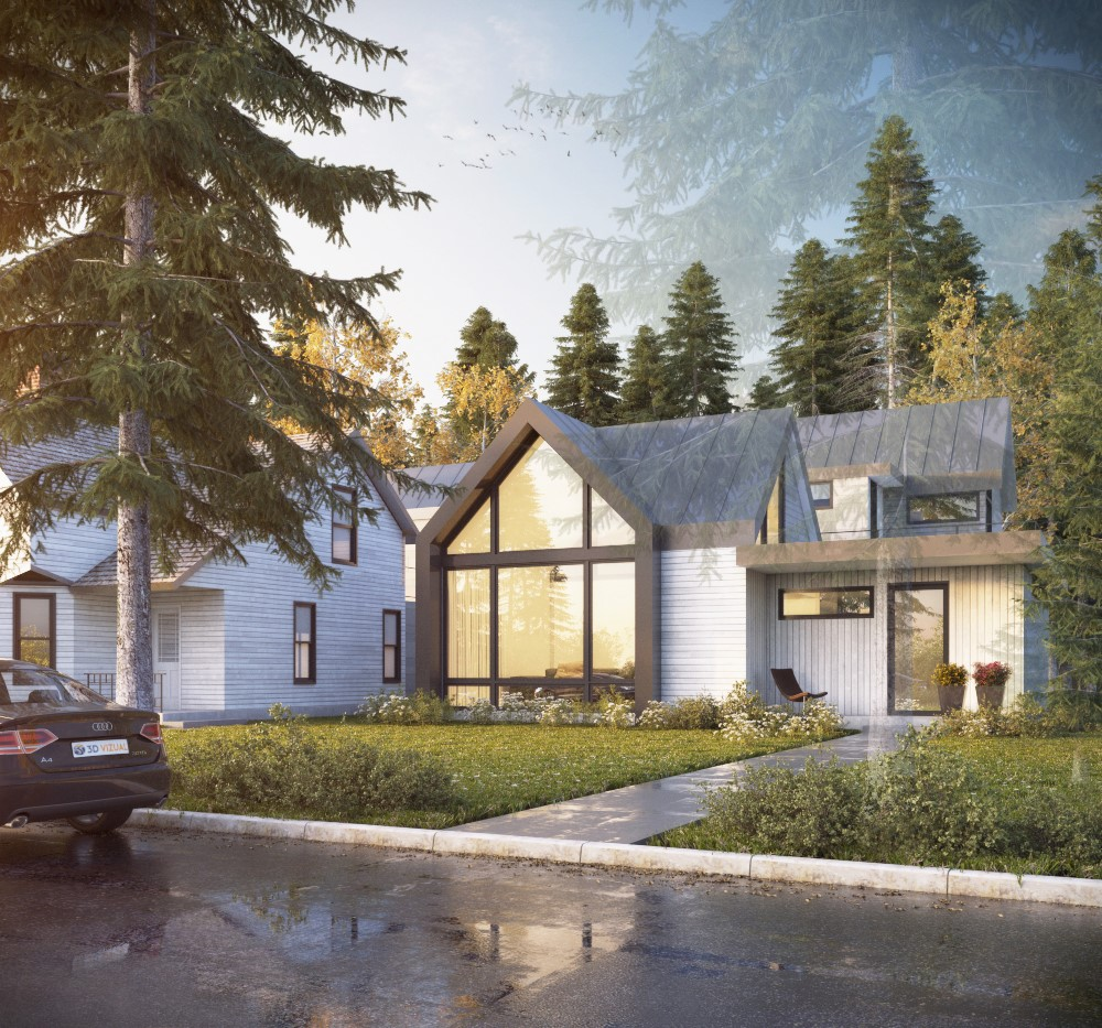 Single Family Home for Sale at Modern Masterpiece 526 W Hallam Street Aspen, Colorado, 81611 United States