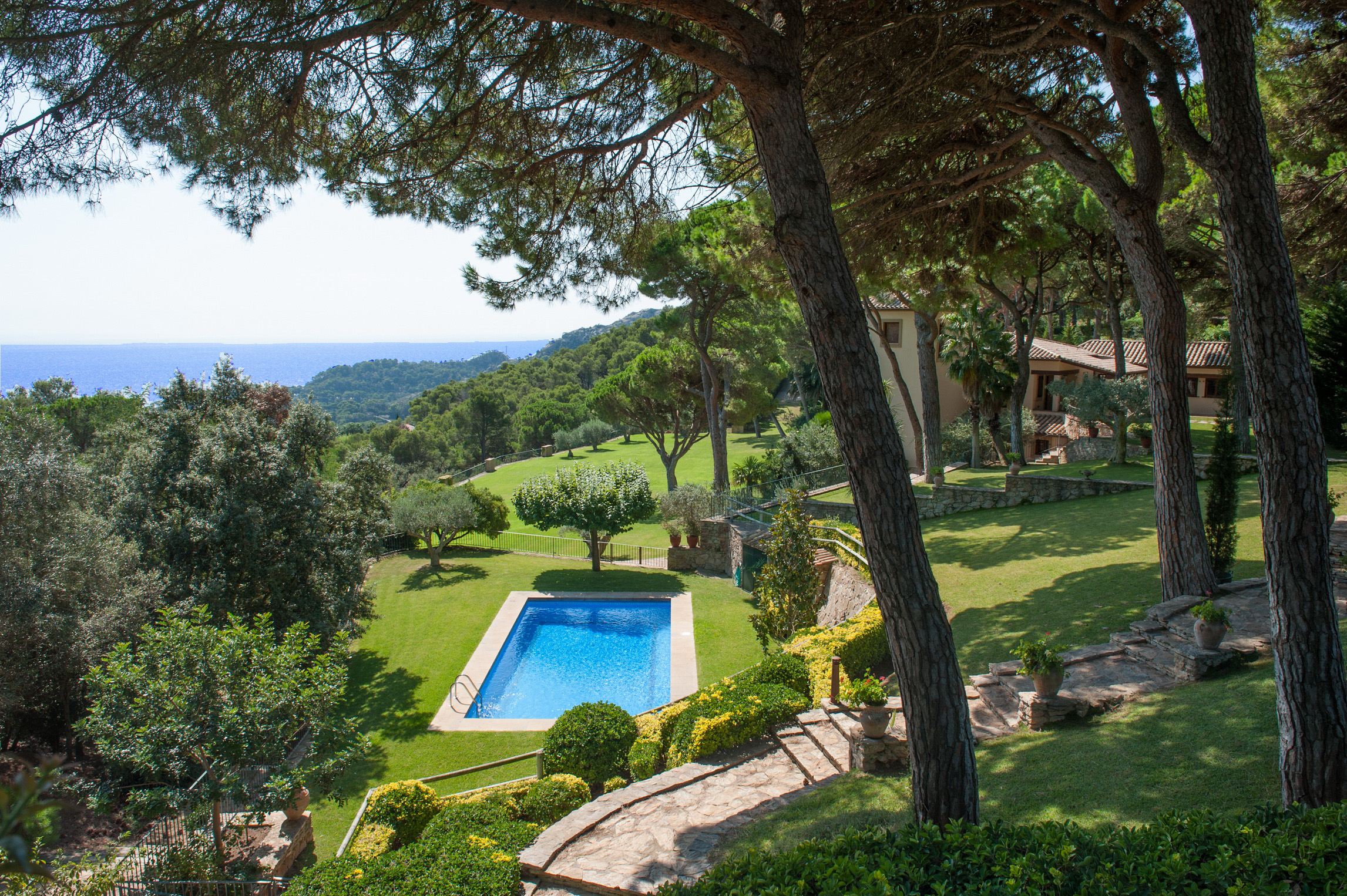 Single Family Home for Sale at Luxury property in Aiguablava with sea views Begur, Costa Brava 17255 Spain