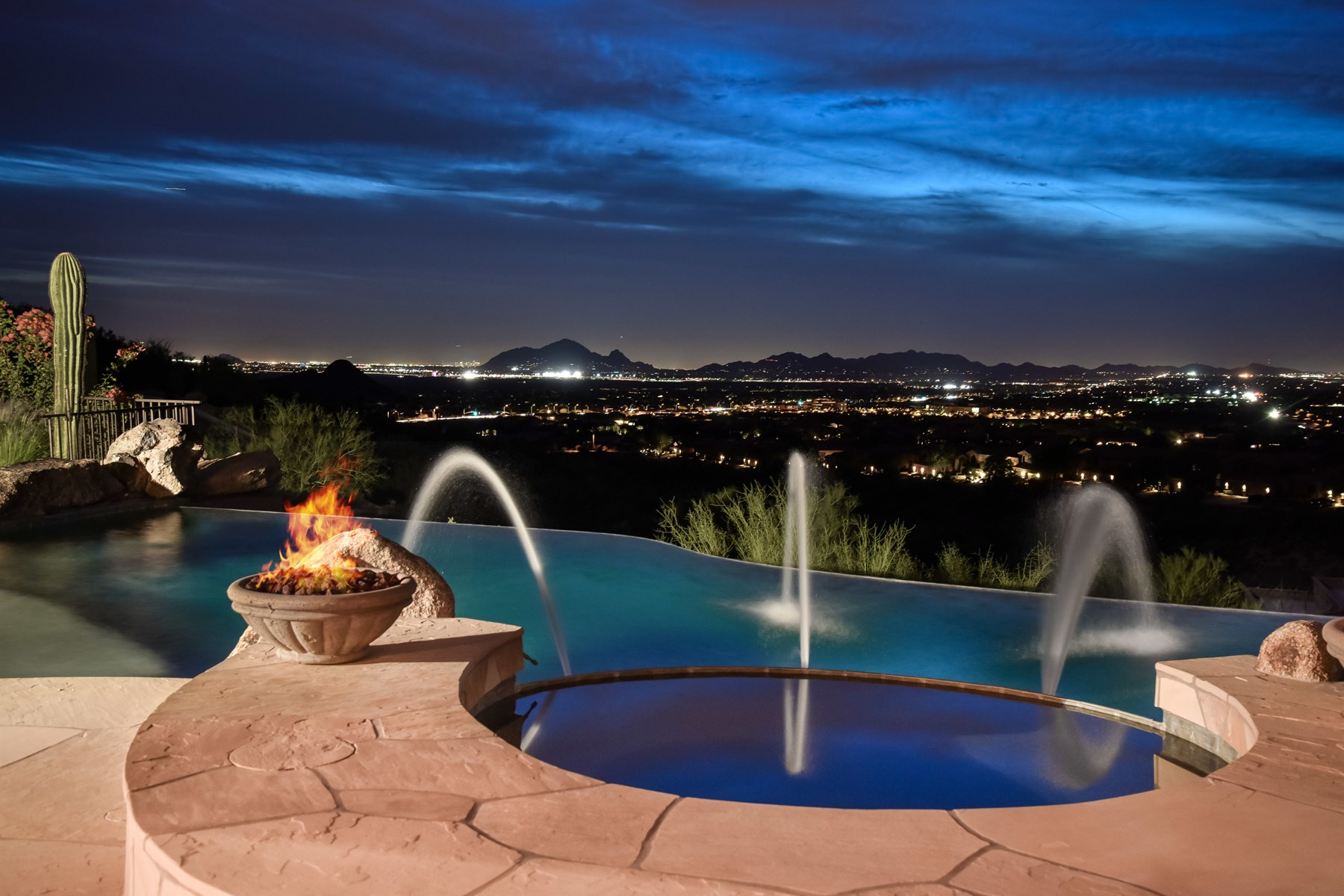 sales property at Custom estate home with captivating views