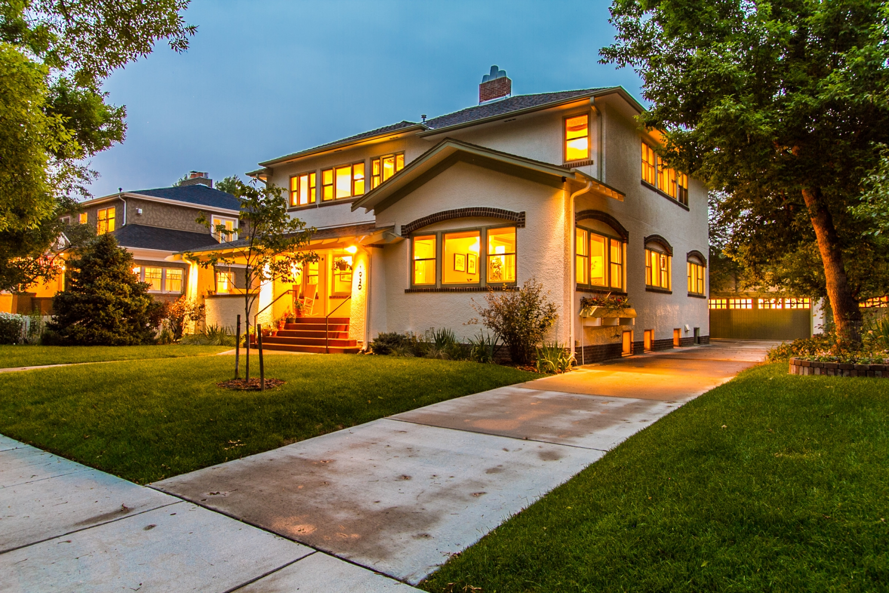 Single Family Home for Sale at Luxurious Mission Revival in Park Hil 1920 Holly Street Denver, Colorado 80220 United States