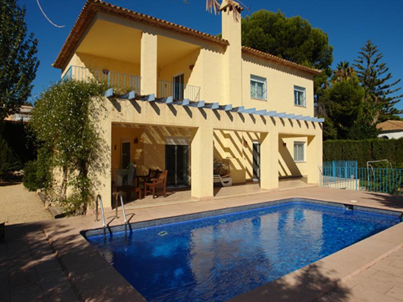 Einfamilienhaus für Verkauf beim Sehr schöne Villa in zweiter Meerlinie mit fantstischem Blick Mediterraneo Calpe, Alicante Costa Blanca 03710 Spanien