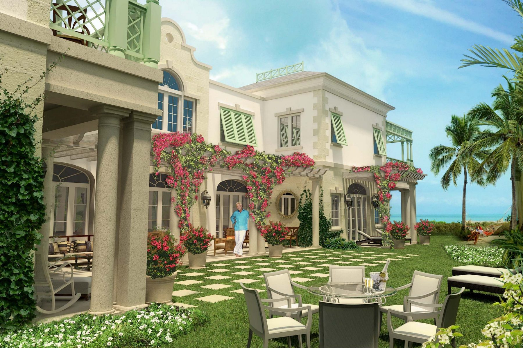 Additional photo for property listing at The Shore Club ~ Villa 6 The Shore Club, Long Bay, Провиденсьялес Теркс И Кайкос