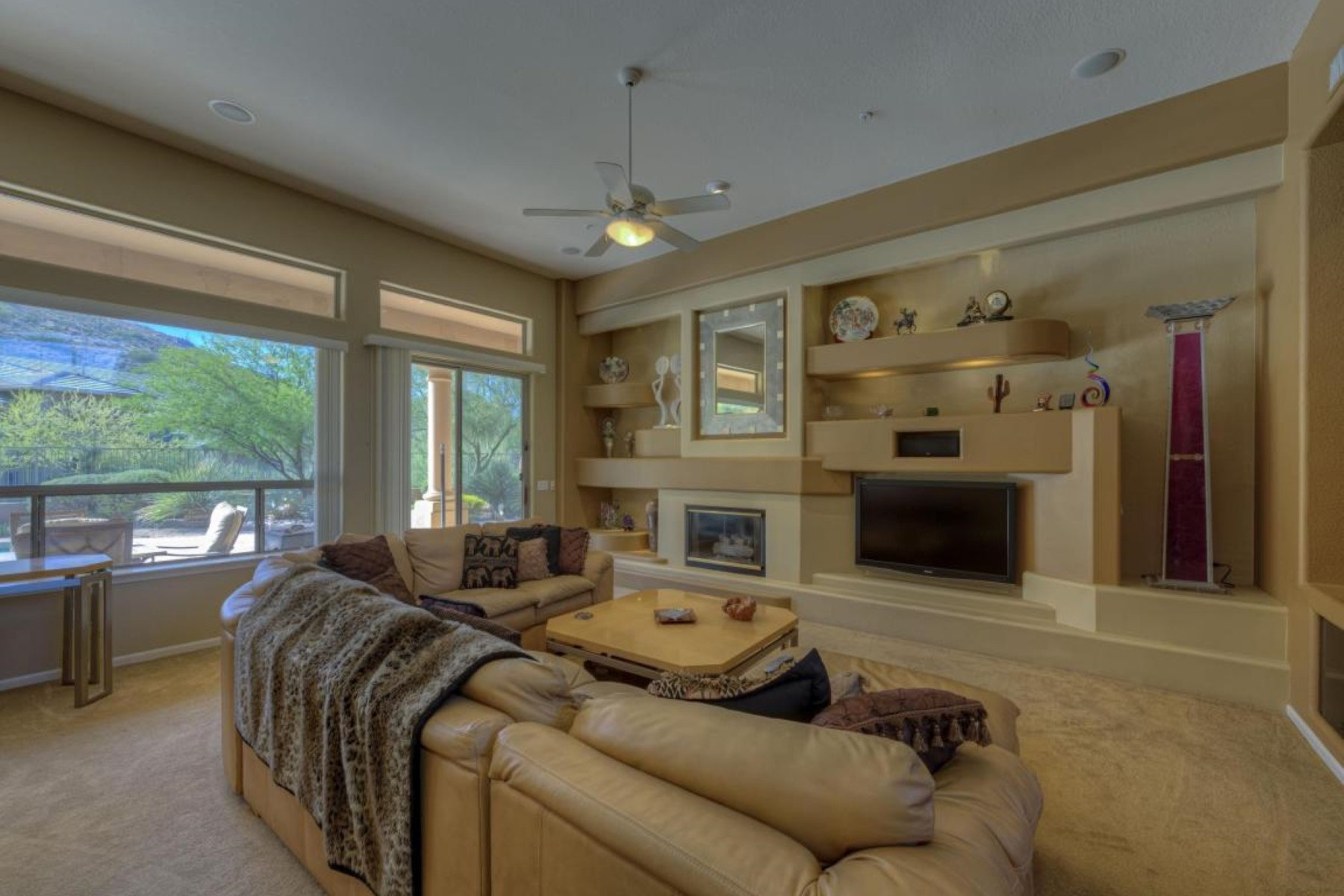 Property Of Designer home has been updated with a soft contemporary look